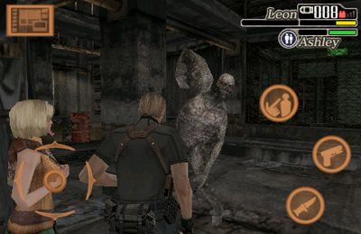 Screenshot Resident Evil 4 on iPhone