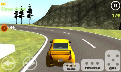 Rally racer 3D for Android
