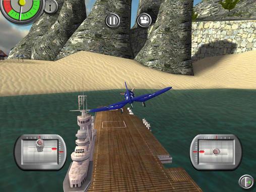 Simulation RC plane 2 für das Smartphone