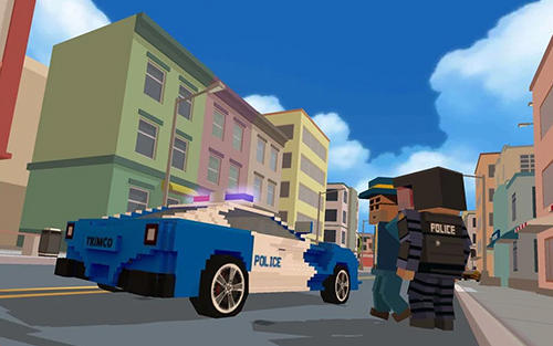 Blocky city: Ultimate police 2 Screenshot