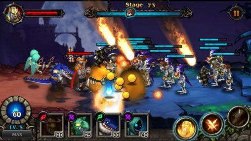Hero defense: Kill undead für Android
