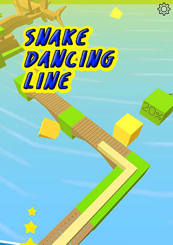 Snake dancing line screenshot 1
