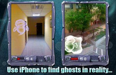 Busca de fantasma! em português