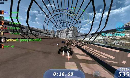 Track racing online pour Android