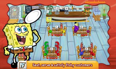 SpongeBob SquarePants: Diner dash captura de tela 3