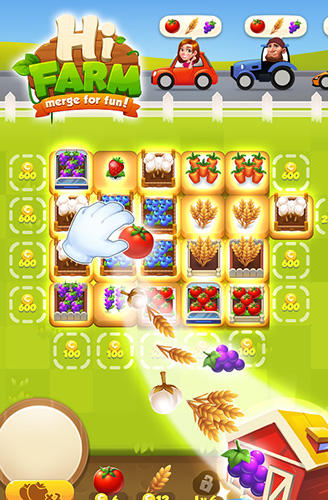 Arcade Hi farm: Merge fun! für das Smartphone