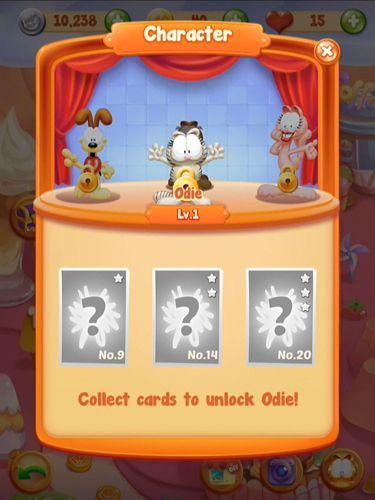 Juegos de arcade: descarga Jefe de cocina de Garfield: Juego de la comida a tu teléfono