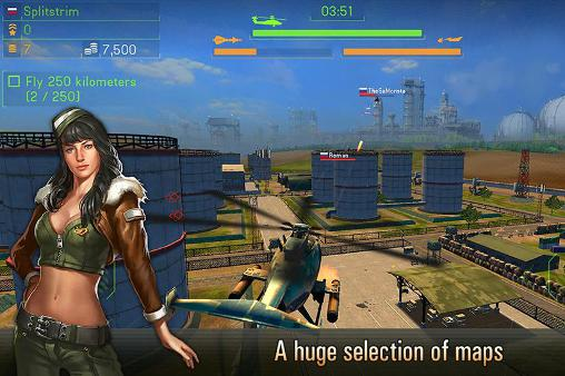 Battle of helicopters for Android
