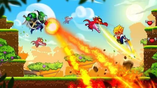 Plattformer Dragon world adventures auf Deutsch