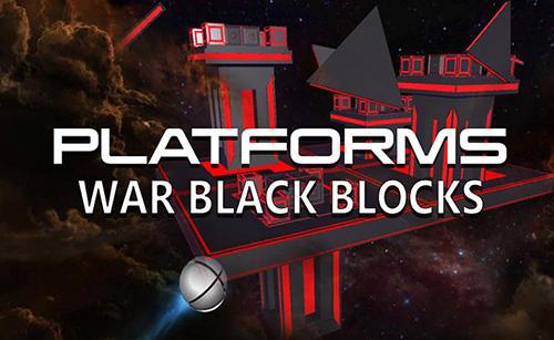 Platforms: War black blocks Screenshot