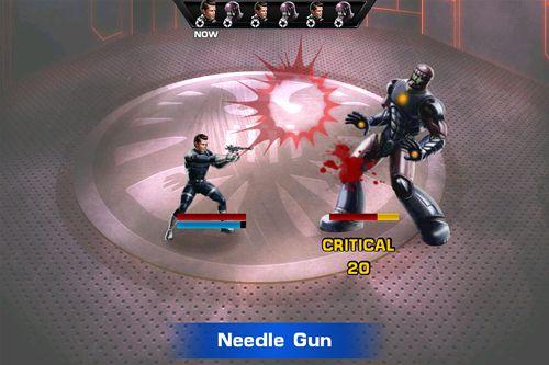 Скриншот Мстители: Альянс на Айфон