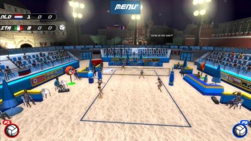 VTree Entertainment Volleyball auf Deutsch