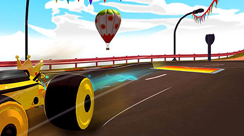 All-star fruit racing VR Screenshot