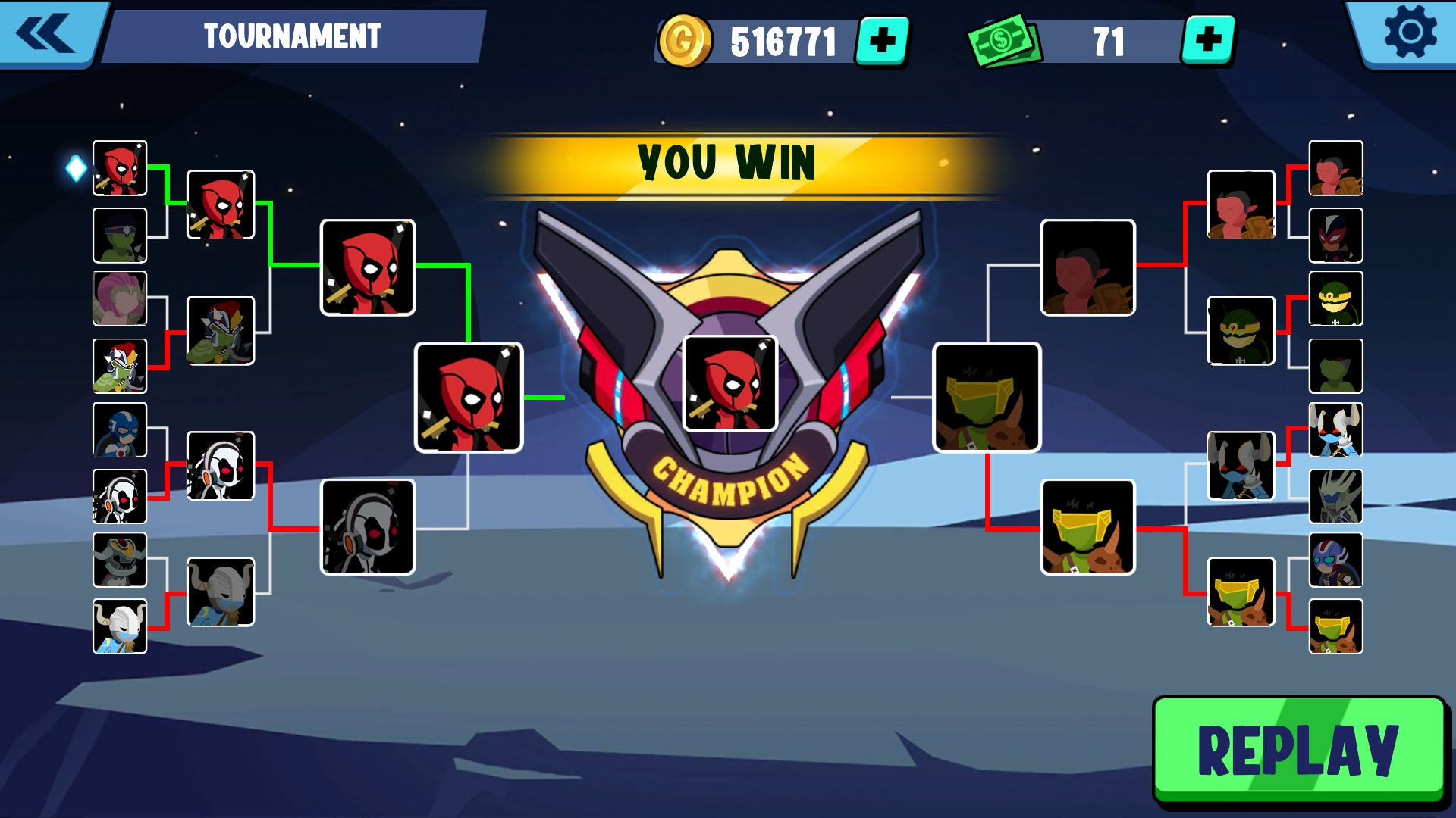 Stickman Superhero - Super Stick Heroes Fight screenshot 1
