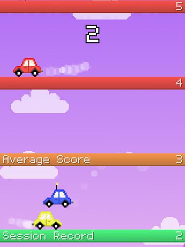 Springendes Auto für iPhone