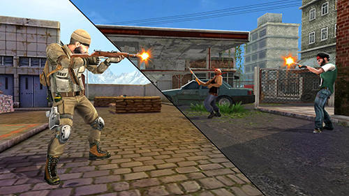 Shooter games Mission counter strike in English