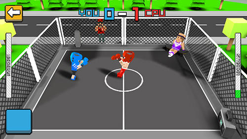 Fighting Cubic street boxing 3D en français