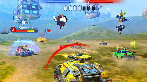 Cars of war für Android