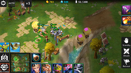 Tales arena: This is the RTS games on your palm für Android