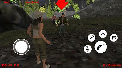 Friday night: Jason killer multiplayer для Android
