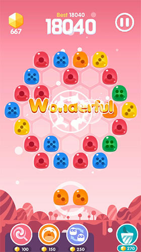 Jogos de lógica Jelly!!para smartphone