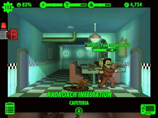 Simulation games Fallout shelter for smartphone