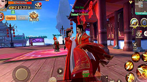 Script of eternity: For love, we war Screenshot