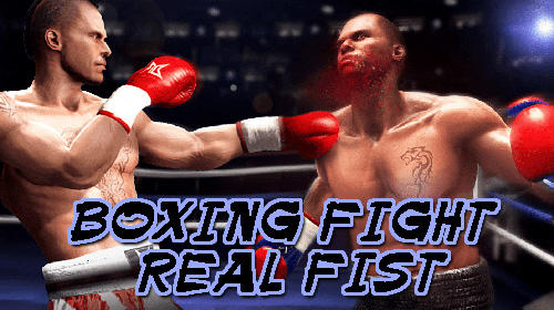 Boxing fight: Real fist Symbol