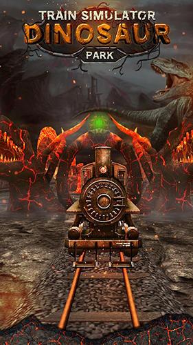 Train simulator: Dinosaur park captura de pantalla 1