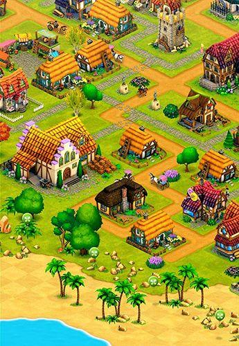 Городская деревня: Ферма, строительство, торговля для Айфон