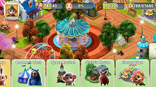 Gerentes Wonder park magic rides en español