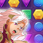 Puzzle fantasy battles: Match 3 adventure games Symbol