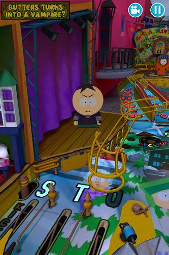 Brettspiele: Lade South Park: Pinball auf dein Handy herunter
