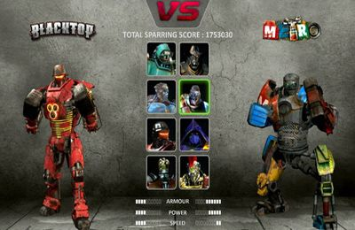 Fighting games: download Real Steel to your phone