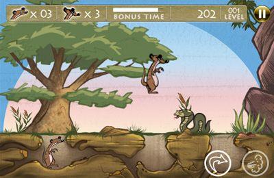 Arcade-Spiele: Lade Die Erdmännchen-Freunde auf dein Handy herunter
