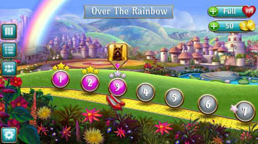 The wizard of Oz: Magic match para Android
