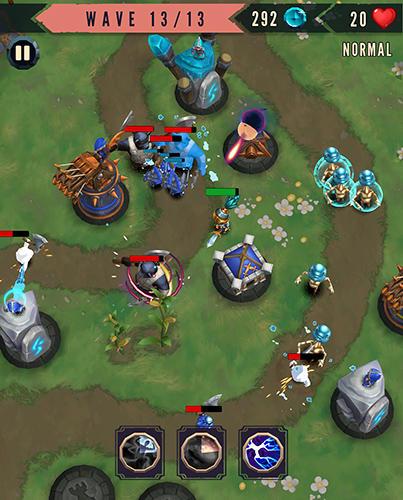 Heroes and havoc TD: Tower defense auf Deutsch
