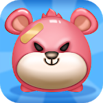 Link time: Pink bear and his friends Symbol