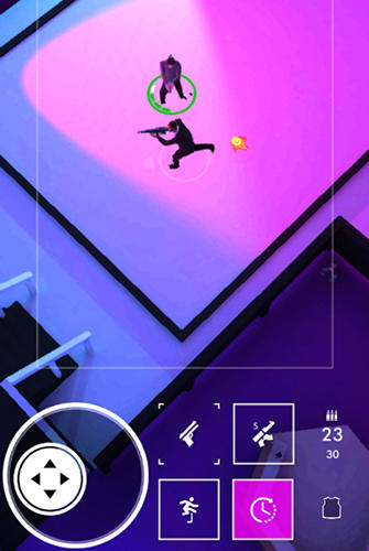 Neon noir: Mobile arcade shooter captura de pantalla 1