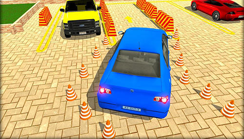 Simulator-Spiele Parking lot: Real car park sim für das Smartphone