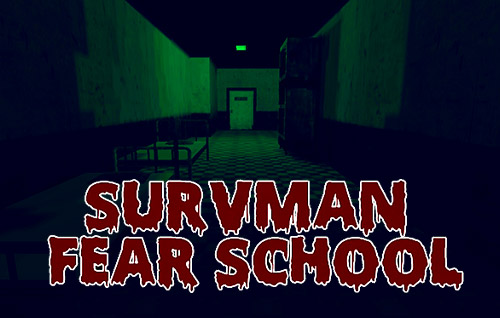 Survman: Fear school. Horror game Screenshot