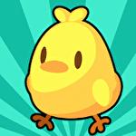 Chicken farm tycoon: Idle merge game Symbol