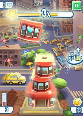 Arcade: Lade Turmbau: New York auf dein Handy herunter