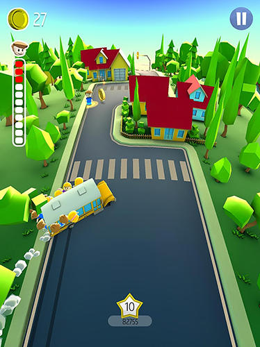 Drifting school bus für Android