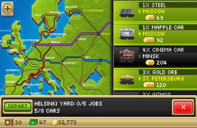 Simulation games: download Pocket Trains to your phone