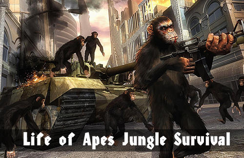 Life of apes: Jungle survival screenshot 1
