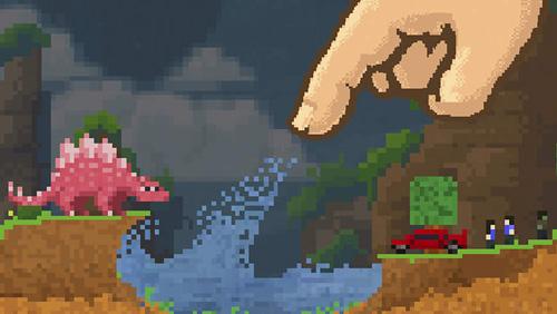 Screenshot Die Sandbox: Baue und erstelle deine Pixelwelt auf dem iPhone