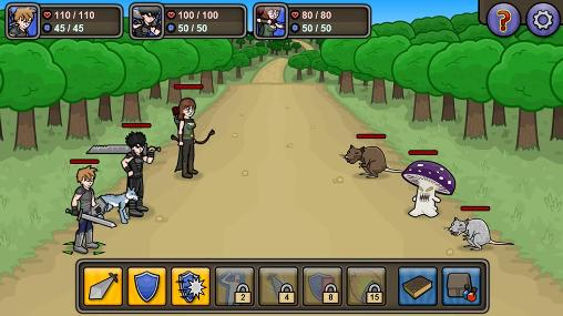 Lethal RPG: War screenshot 1