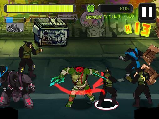 Teenage mutant ninja turtles: Brothers unite für Android
