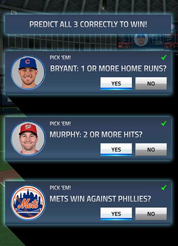 Screenshot MLB Tap Sport: Baseball 2018 auf dem iPhone
